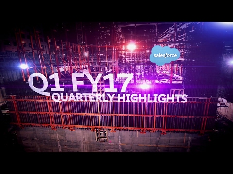 Salesforce FY17Q1 Highlights