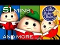 Humpty Dumpty | And More Nursery Rhymes | 51 Minutes Compilation From Littlebabybum! video