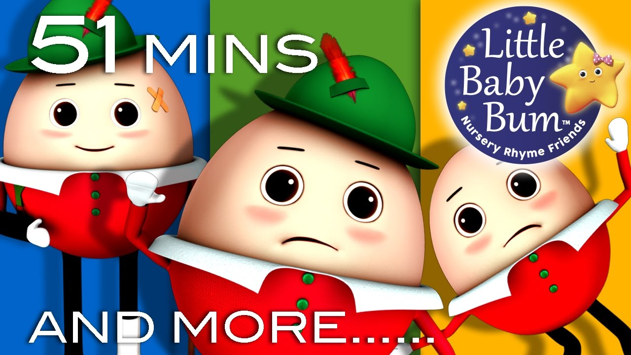 Humpty Dumpty | Little Baby Bum | Nursery Rhymes for Babies | Videos for Kids #1