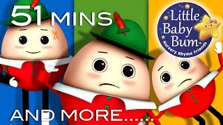 Humpty Dumpty  Little Baby Bum  Nursery Rhymes for Babies  Videos for Kids