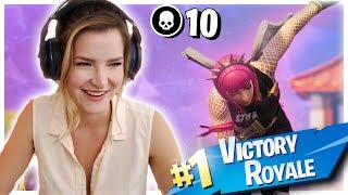 EZ SOLO WIN! (Fortnite: Battle Royale Gameplay) | KittyPlays