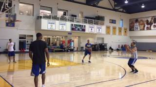 Stephen Curry 47-for-50 on 3-pointers after Warriors (34-6) practice, 2 days before Cavs MLK Game