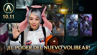 Actualizando LoL 10.11: ¡El poder del nuevo Volibear! / League of Legends