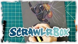 Toned Paper BUMBLEBEE! [July ScrawlrBox] #drawing