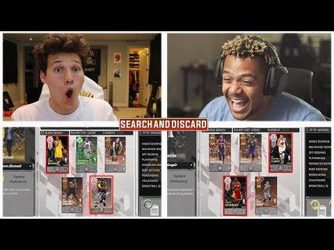 EPIC PINK DIAMOND SEARCH AND DISCARD  NBA 2K18