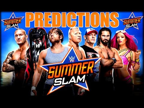 WWE SummerSlam 2016 Predictions / Go-Home SmackDown Review / Del Rio Suspended