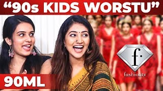 """90s Kids are Worst.."" 90ML Girls Interview 