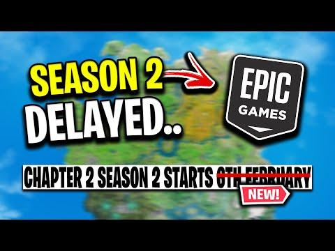 Fortnite Chapter 2 Season 1 EXTENDED Yet Again.. (NEW START DATE)