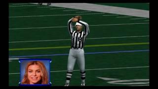 XBOX ESPN NFL 2K5 - TAKING ON CARMEN ELECTRA