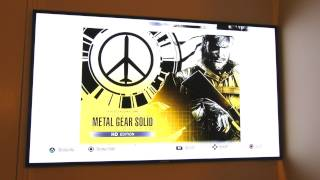 Metal Gear Solid HD Collection Unboxing