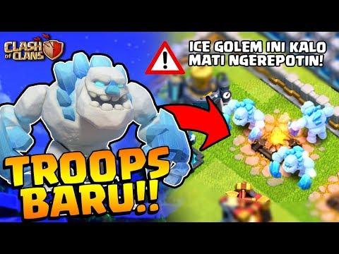 ⚠️TROOPS BARU CoC Anti INFERNO TOWER!! | Bocoran Update ICE GOLEM!!