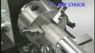 Work Holding Set-Up for Lathe Turning Operations - Basic Tutorial - SMITHY GRANITE 3-in-1