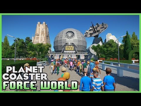 FORCE WORLD! Star Wars Theme Park! Park Spotlight 59 #PlanetCoaster