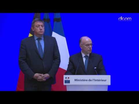 Déclaration commune de Bernard Cazeneuve et Jan Jambon