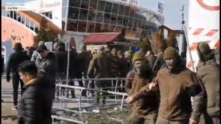 Сутички на ринку в Харкові: затримано до 30 осіб - на місце події прибув Кернес / включення