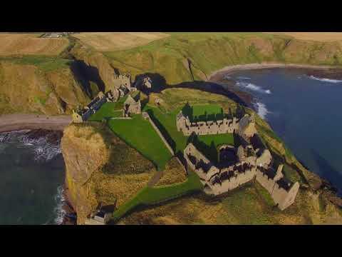 Dunnottar Castle 4K 17th October 2017