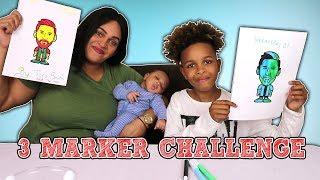 3 MARKER CHALLENGE | LIONEL MESSI EDITION