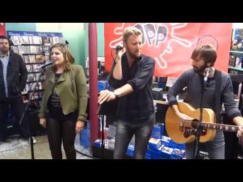 LADY ANTEBELLUM   BARTENDER LIVE AND ACOUSTIC @ FOPP LONDON
