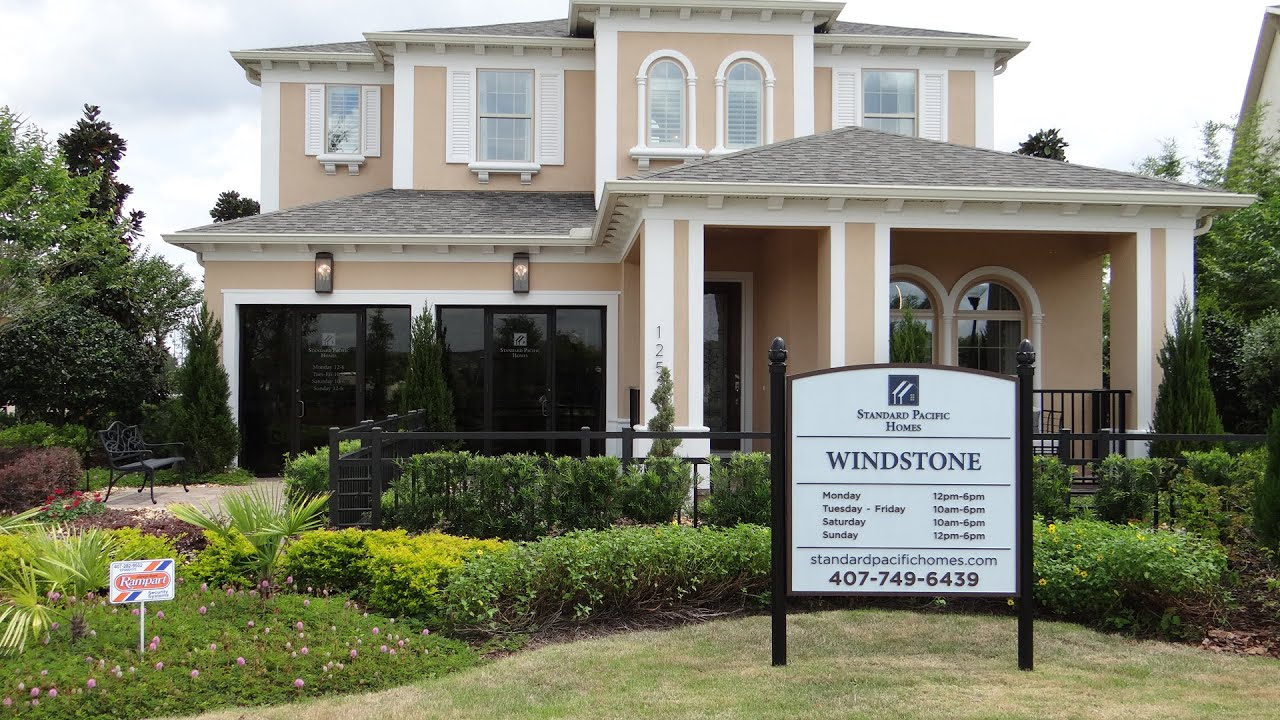 Windstone by Standard Pacific homes Windermere Orlando houses