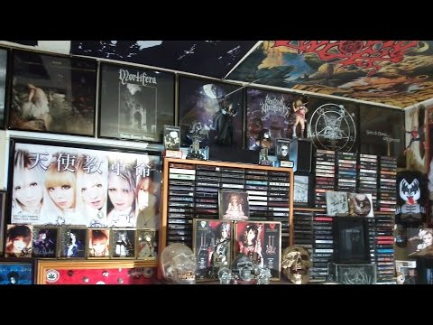 Metal Music Room Tour