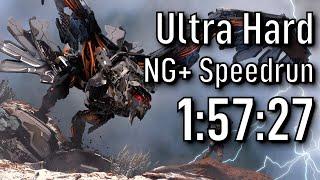 Horizon Zero Dawn NG+ (Ultra Hard) Speedrun in 1:57:27 [Former WR]