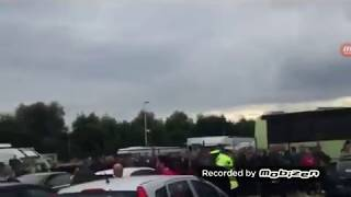 Sheffield United Fans Attack Boro Fans Injury  kids