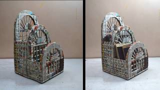 Newspaper Craft | Best Out Of Waste Newspaper | Mobile Holder
