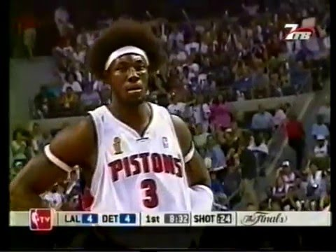 NBA Finals 2003-2004 Lakers - Pistons. g4