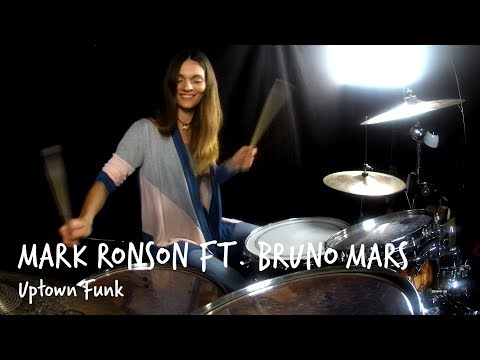 Uptown Funk - Mark Ronson ft. Bruno Mars (Drum Cover by Verry on Drums)