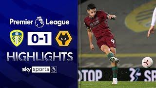 Jimenez's long-range strike earns Wolves 3 points | Leeds 0-1 Wolves | Premier League Highlights