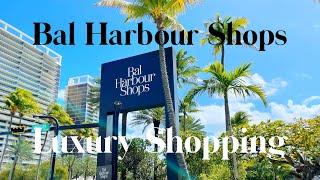 Bal Harbour Luxury Shops in Miami Florida