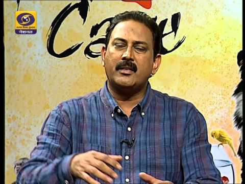 Pet dog care show DD nation doordarshan t.v animal behaviour doctor problem in hindi