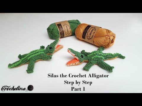 alligator follow the arrows at top of page to get the pattern ...   360x480