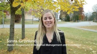 Master Programme in Industrial Management and Innovation - Uppsala University thumbnail