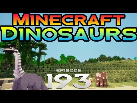 Minecraft Dinosaurs! - Episode 193 - This is why we don't have sharks!
