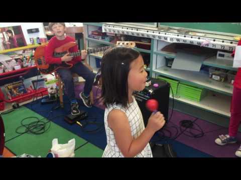 Teaching Instrument Petting Zoo Class at Argonne Elementary School
