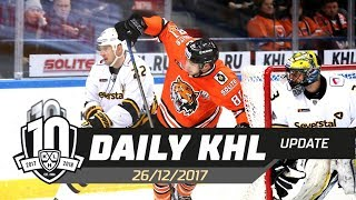 Daily KHL Update - December 26th, 2017 (English)