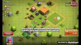 #2.clash of clans el cañón terminator y batallita online