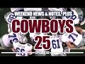 Latest Dallas Cowboys News and Cowboys 25 Celebration