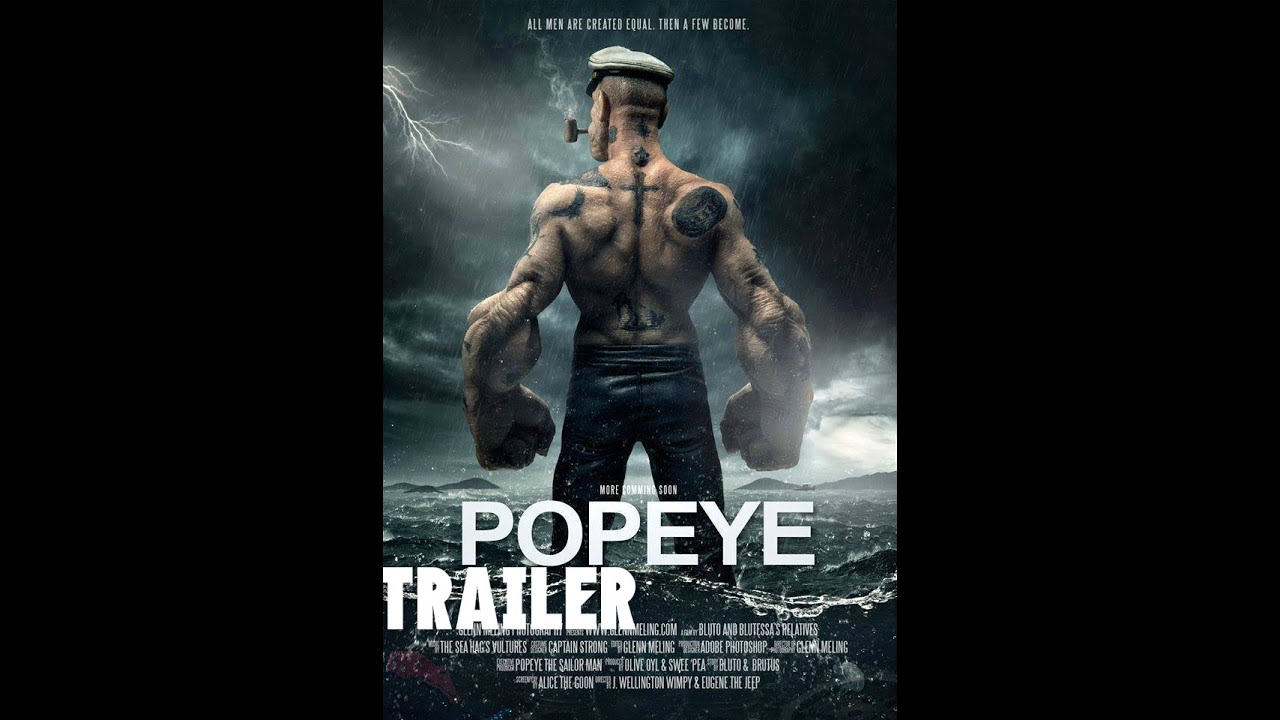 Popeye la pelicula trailer oficial 1 2016 hd youtube for El mural pelicula online
