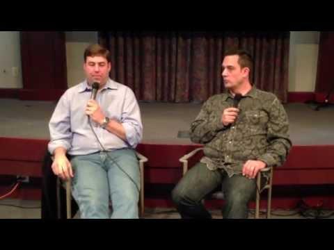 Jim Catino (Vice President A&R at Sony Music) & Rick Barker