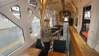 JR東、豪華寝台列車「四季島」車内公開=全室スイートタイプ、5月運行開始 四季島 検索動画 3