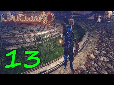 [13] BLUE SAND ARMOR UPGRADE! (Outward With Ghost)