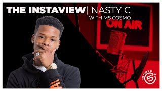 Gambar cover Nasty C chats to Ms Cosmo | Def Jam Signing | LOCKDOWN | SOCIAL DISTANCING INTERVIEW | THE FUTURE |