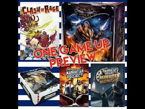 One Game Up (17) Clash of Rage, Sin Tempore, Manhattan Project, Lords of Hellas