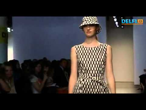 Finnish design and fashion house Marimekko New York Fashion Week presented a lively collection of