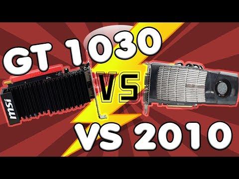 Die GT 1030 im Jahr 2010? Was wäre wenn NVIDIA diese Grafikkarte 2010 veröffentlicht hätte?