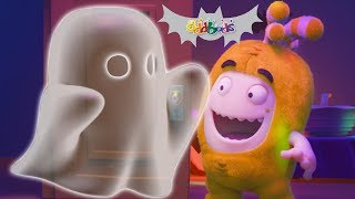 Oddbods | Uninvited Guests | Funny Halloween Cartoons