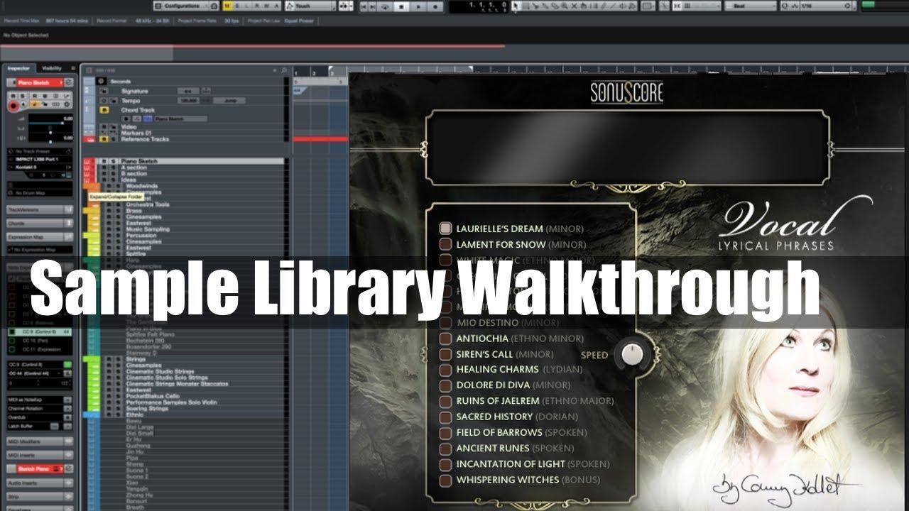 Sample Library Walkthrough: Vocal Lyrical Phases from Sonuscore
