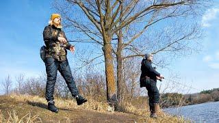 Отводной поводок в начале весны Рыбалка с женой научил на свою голову